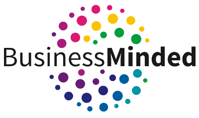 Business Minded Logo png black